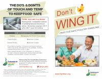 Don't Wing It Brochure for Seniors