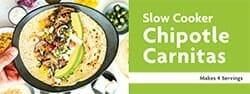 Slow Cooker Chipotle Carnitas Recipe